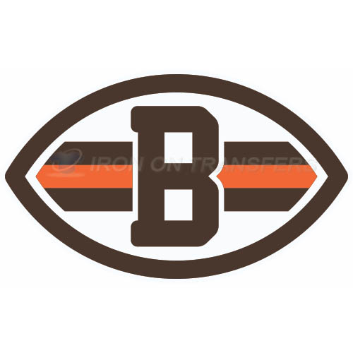 Cleveland Browns Iron-on Stickers (Heat Transfers)NO.488