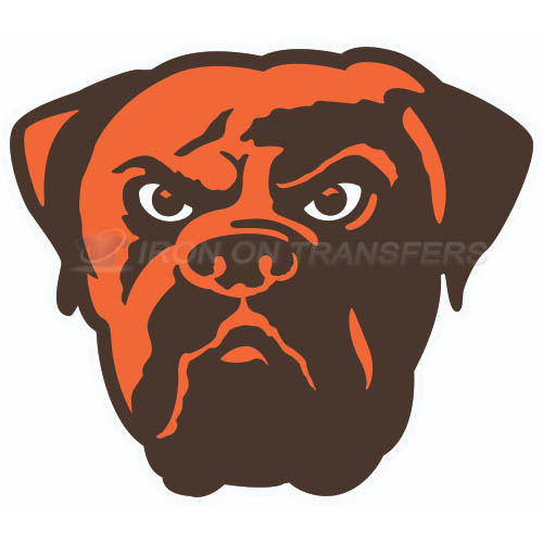 Cleveland Browns Iron-on Stickers (Heat Transfers)NO.489