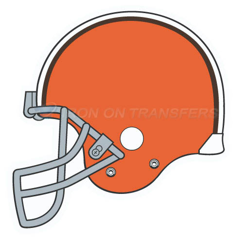 Cleveland Browns Iron-on Stickers (Heat Transfers)NO.492