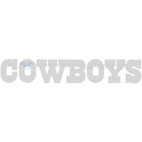 Dallas Cowboys Iron-on Stickers (Heat Transfers)NO.494