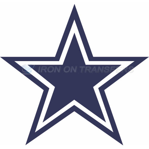 Dallas Cowboys Iron-on Stickers (Heat Transfers)NO.496