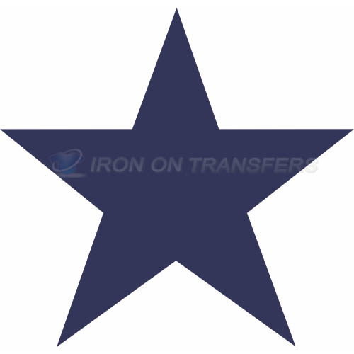 Dallas Cowboys Iron-on Stickers (Heat Transfers)NO.497