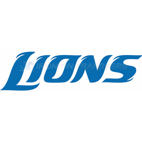 Detroit Lions Iron-on Stickers (Heat Transfers)NO.514