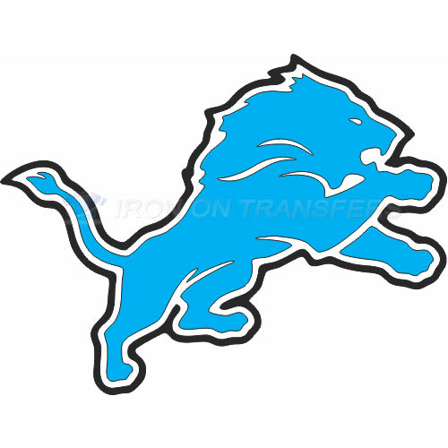 Detroit Lions Iron-on Stickers (Heat Transfers)NO.516