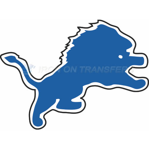 Detroit Lions Iron-on Stickers (Heat Transfers)NO.517