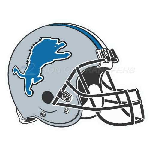 Detroit Lions Iron-on Stickers (Heat Transfers)NO.519