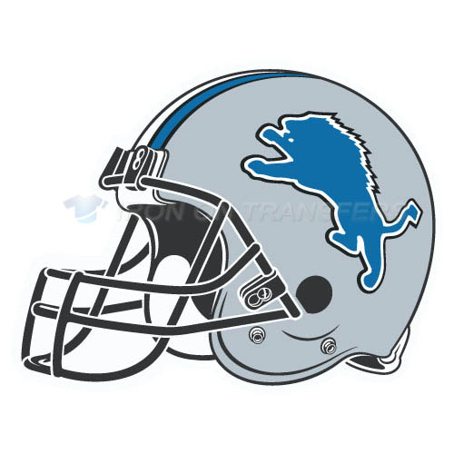 Detroit Lions Iron-on Stickers (Heat Transfers)NO.520