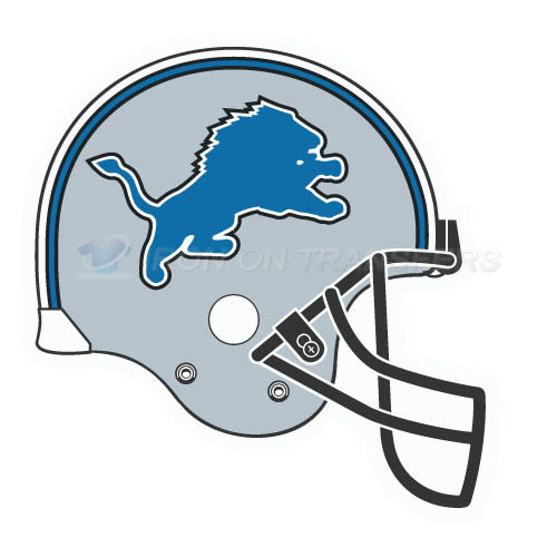 Detroit Lions Iron-on Stickers (Heat Transfers)NO.521