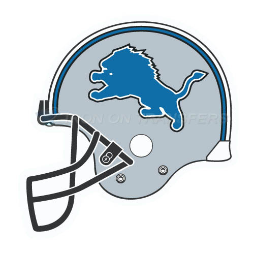 Detroit Lions Iron-on Stickers (Heat Transfers)NO.522