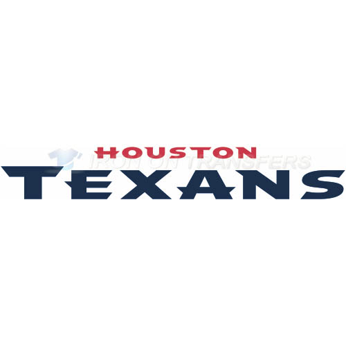 Houston Texans Iron-on Stickers (Heat Transfers)NO.532