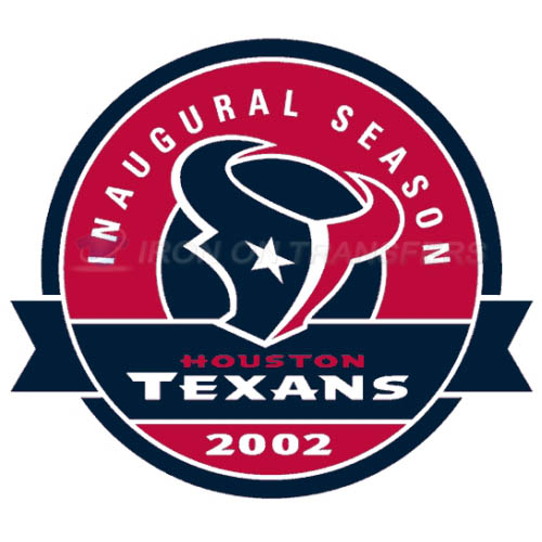 Houston Texans Iron-on Stickers (Heat Transfers)NO.534