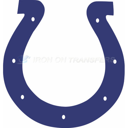 Indianapolis Colts Iron-on Stickers (Heat Transfers)NO.542