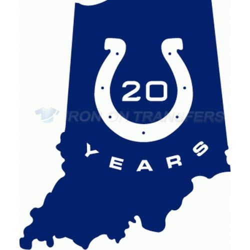 Indianapolis Colts Iron-on Stickers (Heat Transfers)NO.543