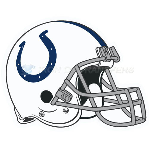 Indianapolis Colts Iron-on Stickers (Heat Transfers)NO.544
