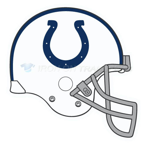 Indianapolis Colts Iron-on Stickers (Heat Transfers)NO.546