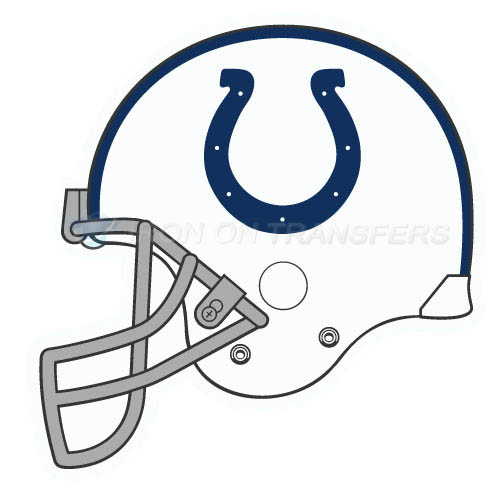 Indianapolis Colts Iron-on Stickers (Heat Transfers)NO.547