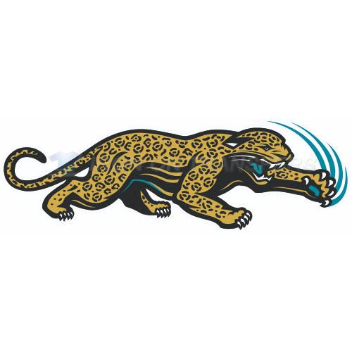 Jacksonville Jaguars Iron-on Stickers (Heat Transfers)NO.555