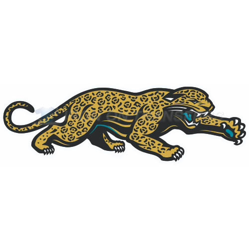 Jacksonville Jaguars Iron-on Stickers (Heat Transfers)NO.558
