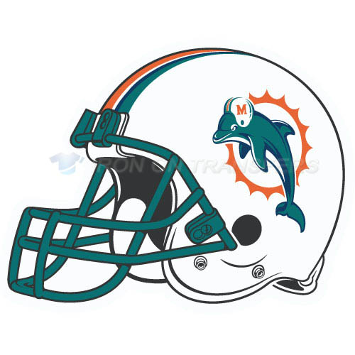 Miami Dolphins Iron-on Stickers (Heat Transfers)NO.585