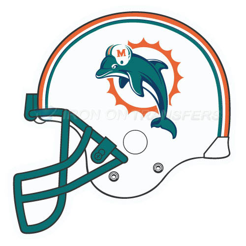Miami dolphins design college ncaa sports iron ons and for Best no iron shirts