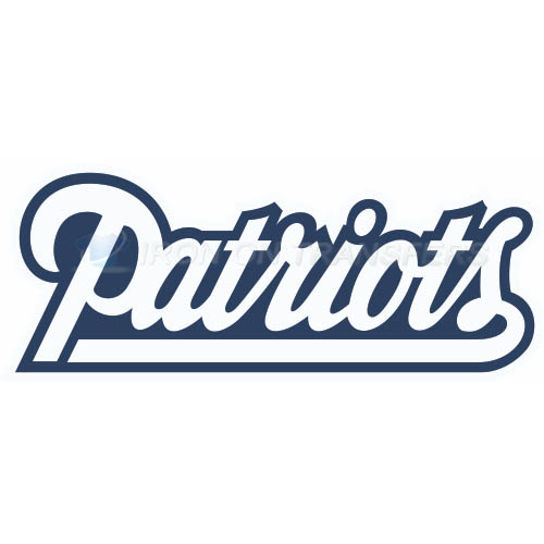 New England Patriots Iron-on Stickers (Heat Transfers)NO.597
