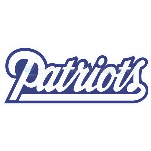 New England Patriots Iron-on Stickers (Heat Transfers)NO.598