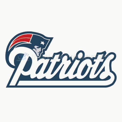 New England Patriots Iron-on Stickers (Heat Transfers)NO.603