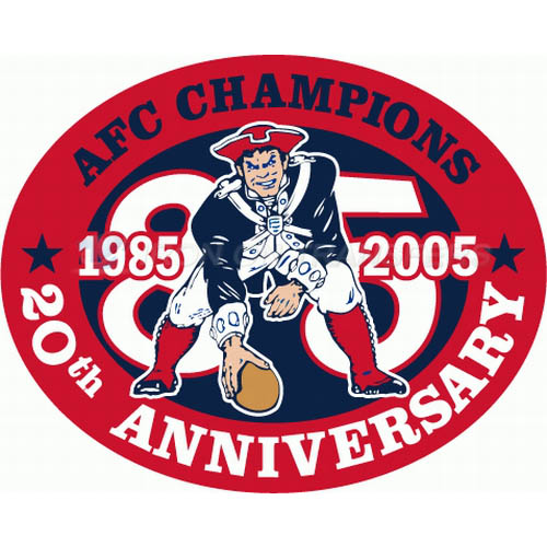 New England Patriots Iron-on Stickers (Heat Transfers)NO.605