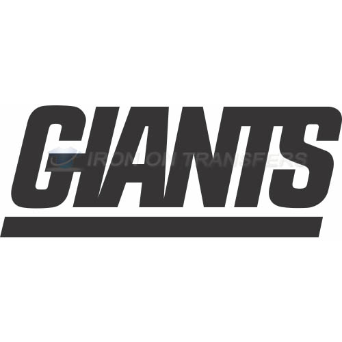 New York Giants Iron-on Stickers (Heat Transfers)NO.630