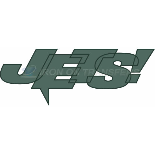 New York Jets Iron-on Stickers (Heat Transfers)NO.637