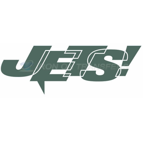 New York Jets Iron-on Stickers (Heat Transfers)NO.638
