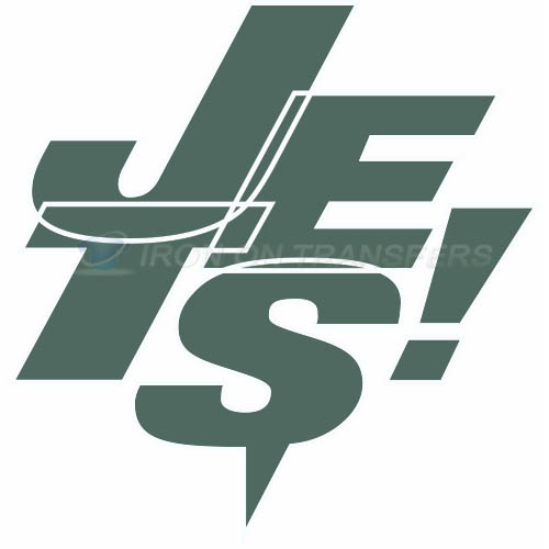 New York Jets Iron-on Stickers (Heat Transfers)NO.640