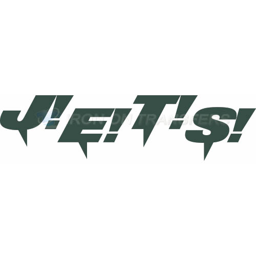 New York Jets Iron-on Stickers (Heat Transfers)NO.641
