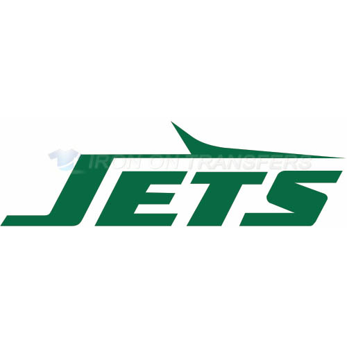 New York Jets Iron-on Stickers (Heat Transfers)NO.643