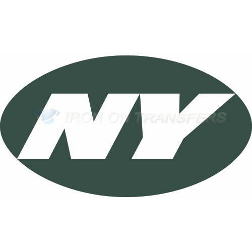 New York Jets Iron-on Stickers (Heat Transfers)NO.645
