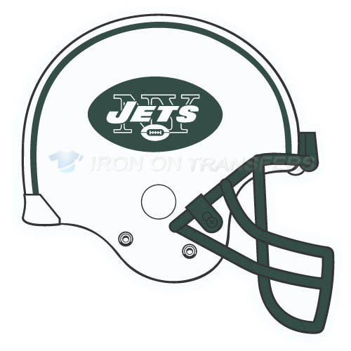New York Jets Iron-on Stickers (Heat Transfers)NO.652