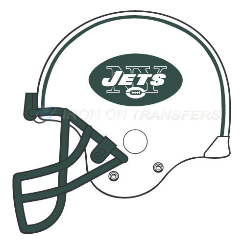 New York Jets Iron-on Stickers (Heat Transfers)NO.653