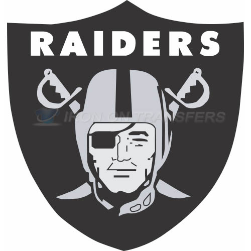 Oakland Raiders Iron-on Stickers (Heat Transfers)NO.665