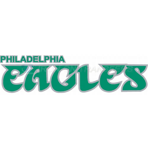 Philadelphia Eagles Iron-on Stickers (Heat Transfers)NO.674