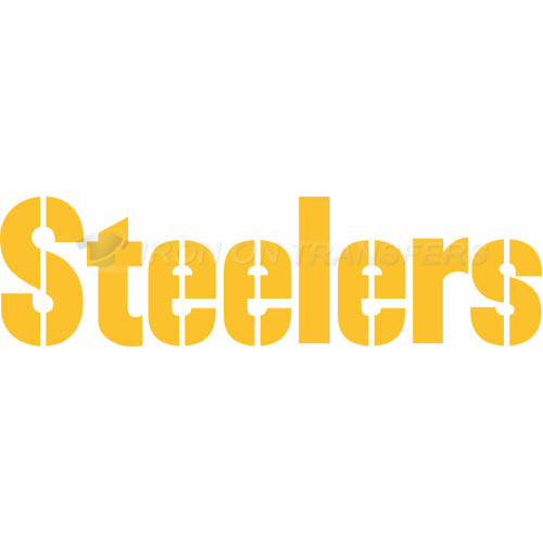 Pittsburgh Steelers Iron-on Stickers (Heat Transfers)NO.681