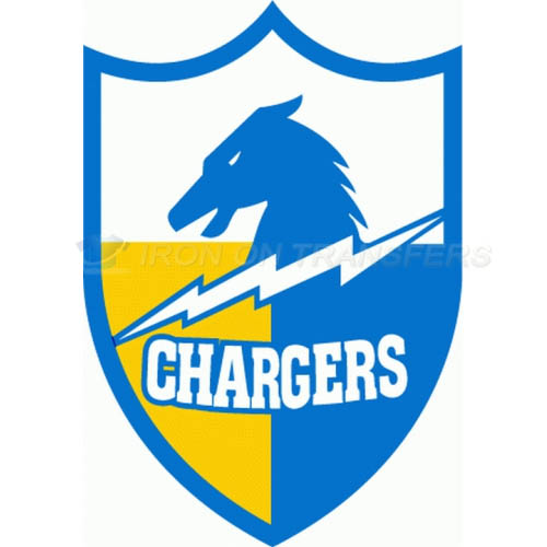 San Diego Chargers Iron-on Stickers (Heat Transfers)NO.733