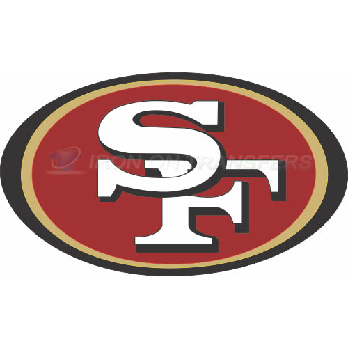 San Francisco 49ers Iron-on Stickers (Heat Transfers)NO.745