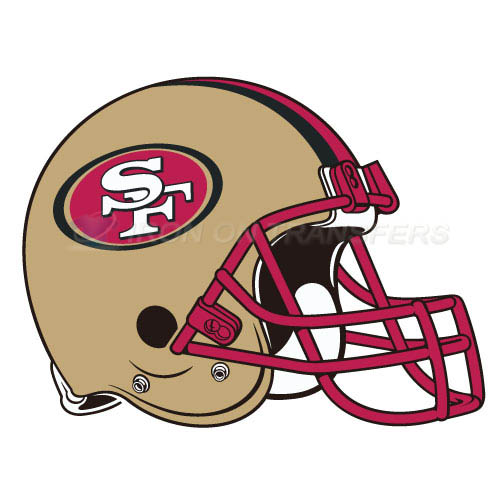 San Francisco 49ers Iron-on Stickers (Heat Transfers)NO.748