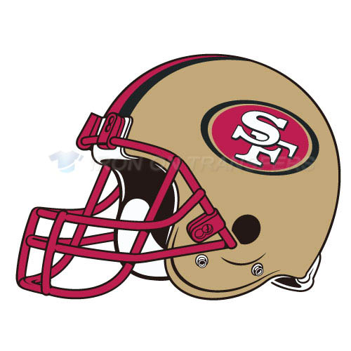 San Francisco 49ers Iron-on Stickers (Heat Transfers)NO.749