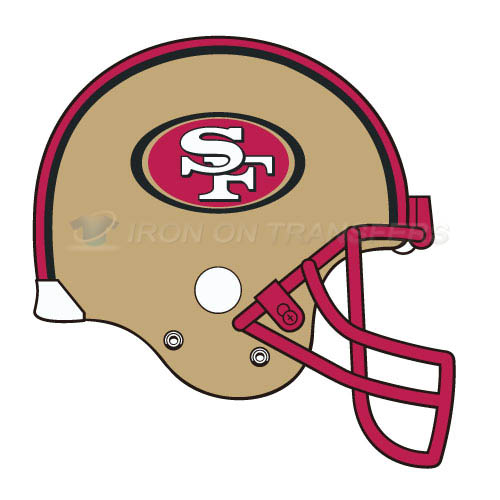 San Francisco 49ers Iron-on Stickers (Heat Transfers)NO.750