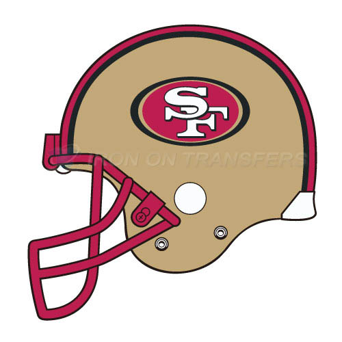 San Francisco 49ers Iron-on Stickers (Heat Transfers)NO.751
