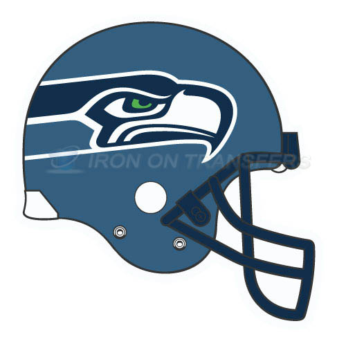 Seattle Seahawks Iron-on Stickers (Heat Transfers)NO.759