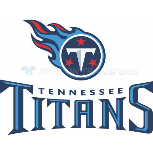 Tennessee Titans Iron-on Stickers (Heat Transfers)NO.835