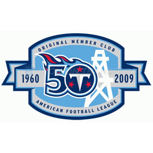 Tennessee Titans Iron-on Stickers (Heat Transfers)NO.837