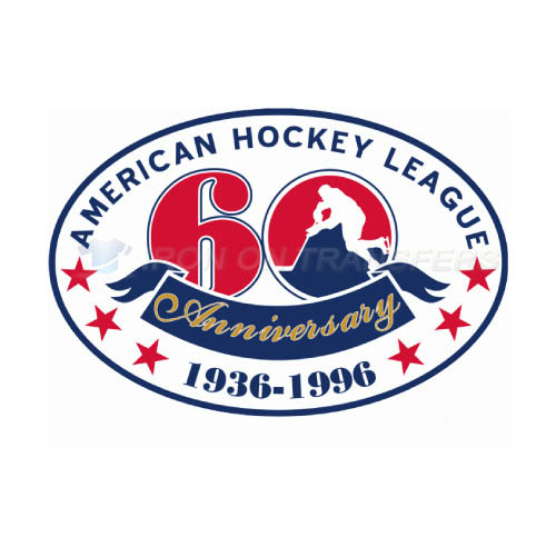 American Hockey League Iron-on Stickers (Heat Transfers)NO.8971